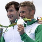 Jubilant Gary and Paul O'Donovan