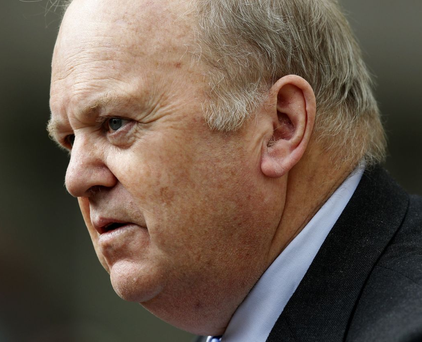 Michael Noonan: 'I thought the communications were very good. I was proud of my colleagues in explaining this very complex issue since the start of the week' Photo: PA News