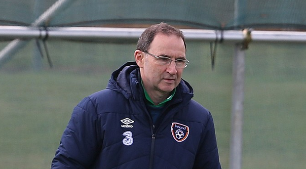 Martin O'Neill played a blinder in the last week. His handling of it all, from giving Robbie the limelight for his farewell to bringing the squad back, was superb. Photo: PA Wire