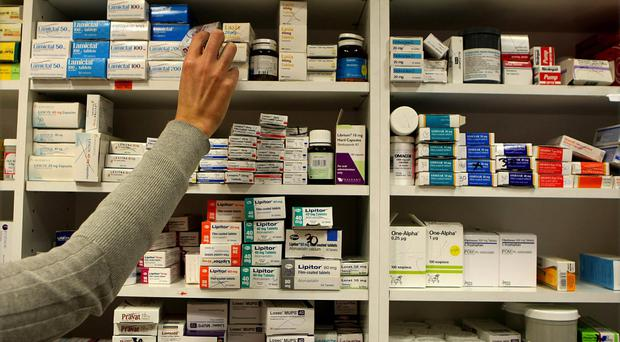 Prescription charges for medical card holders are set to be slashed in the upcoming Budget. Stock Image: PA