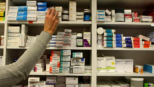A ground-breaking plan by GPs to set up a nationwide network of 'in-house' pharmacies has been shelved, the Sunday Independent has learned. Stock Image: PA