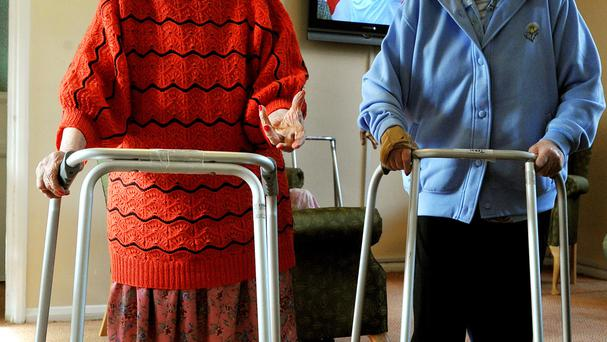 Farm families would save thousands of euro per year on their nursing home costs. Stock photo