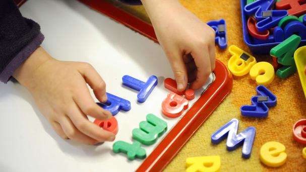 The childcare industry warned it is facing a crisis of sustainability and can only achieve Government childcare provision targets with better State subsidies. Stock Image: PA