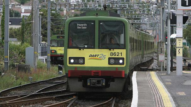 DART services were disrupted after two separate incidents this morning