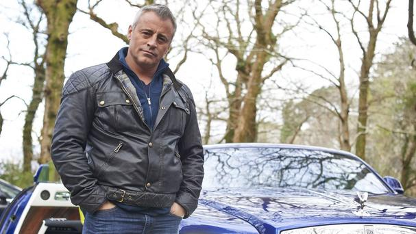 Matt LeBlanc posted a photo from the set of Top Gear to Twitter. Picture: PA