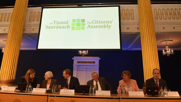 First meeting of Citizens' Assembly takes places in Dublin