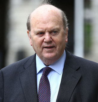 Finance Minister Michael Noonan Photo: PA