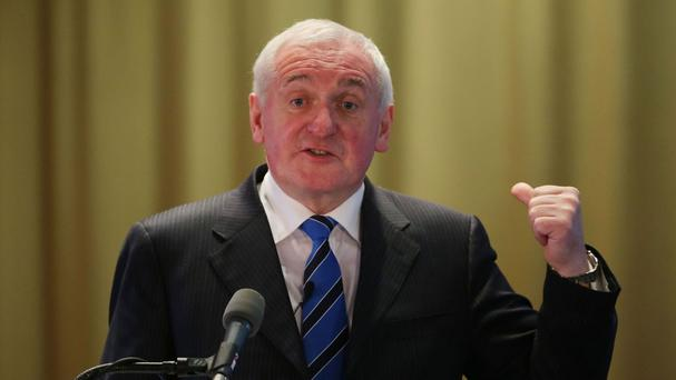 Former Taoiseach Bertie Ahern dismissed suggestions Irish ports and airports could become proxy points of entry into the UK