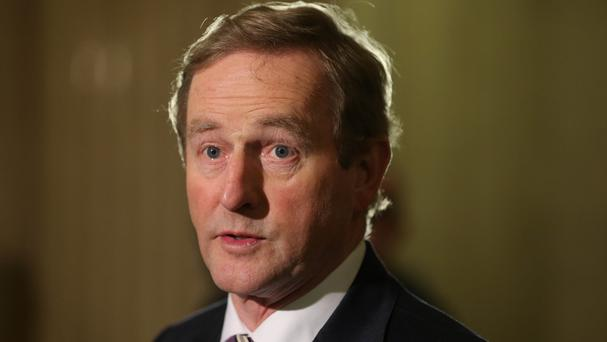 Enda Kenny spoke to US President-elect Donald Trump by telephone for 10 minutes