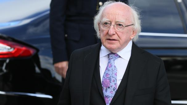 President Michael D Higgins rejected claims he ignored human rights concerns in a statement marking the death of Fidel Castro