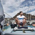 Gavan Hennigan at the start line of the Talisker Whisky Atlantic Challenge (Talisker Whisky Atlantic Challenge /PA)
