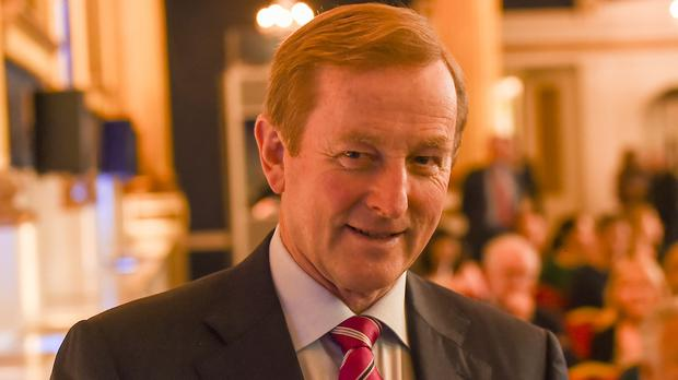 'The by now legendary leader of Fine Gael who is giving young pretenders to this throne the run-around.' Photo: PA