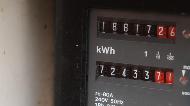 A domestic electricity meter