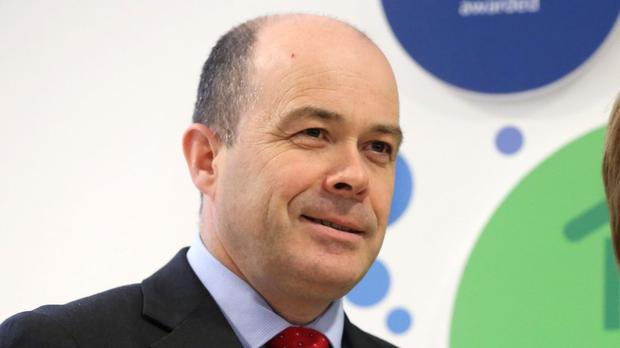 Denis Naughten has suffered minor injuries after a road accident in Roscommon