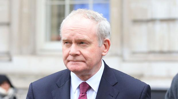 Martin McGuinness Picture: PA
