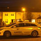 Garda at the scene in Kilclare Crescent in Jobstown