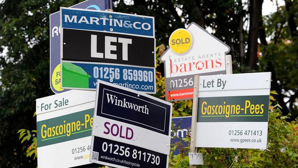 Residential property prices in the rest of the country, when Dublin is excluded, were 12.8pc higher in the year to November.