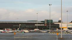 An RAF Hercules plane landed at Shannon Airport without seeking advance clearance from the Dublin government