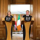 Theresa May says she and Enda Kenny are