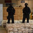 A 37.5 million euro cannabis haul which was seized at Dublin Port