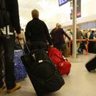 'Cross-checking of passenger lists between airlines and passport control is unknown' Stock Image