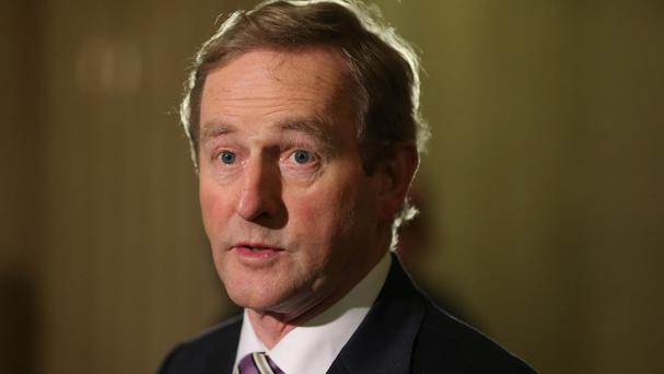 After years of shunning Sinn Féin's prospects for power, Mr Kenny left the door open to going into office with them