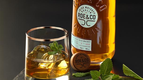 Roe and Co whiskey will go on sale next month for €35 a bottle (Diageo/PA)