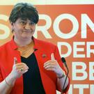 Arlene Foster said more people in Northern Ireland speak Polish than Irish.