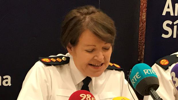 Garda Commissioner Noirin O'Sullivan said: 'I am innocent'
