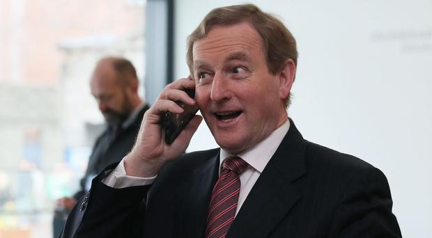 Taoiseach Enda Kenny had committed last year to stepping down before the next election