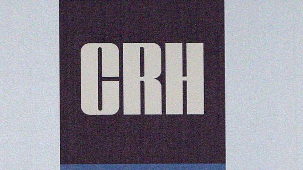 Global building materials giant CRH will issue full-year results on Wednesday. Photo: PA