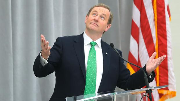 Taoiseach Enda Kenny delivers a speech to business leaders