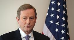 Irish Taoiseach Enda Kenny has been on a tour of the US.