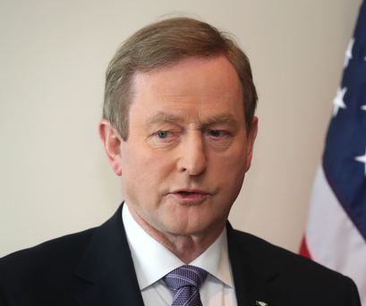 Irish Taoiseach Enda Kenny. Photo: PA