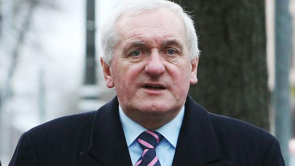 Former taoiseach Bertie Ahern was among the former Irish leaders to pay tribute to Mr McGuinness' negotiating skills