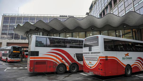 Bus Éireann will begin an all-out strike at midnight tonight