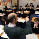 The shortage of qualified teachers for second-level schools is getting worse for a number of subjects, including the critical area of maths. Stock Image