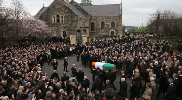 Martin McGuinness died aged 66