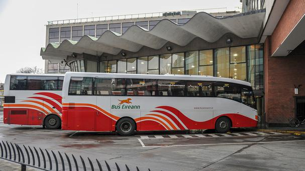 'The Bus Eireann dispute will now enter a tenth day of strike action today with no end in sight' (stock photo)