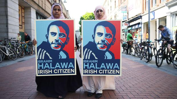 Irishman Ibrahim Halawa acquitted of all charges over Egypt protests