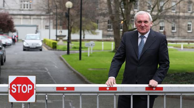 Former taoiseach Bertie Ahern believes a border poll will not help Brexit negotiations