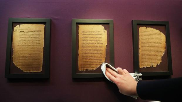 Some of the oldest surviving biblical manuscripts have gone on display at the Chester Beatty library in Dublin