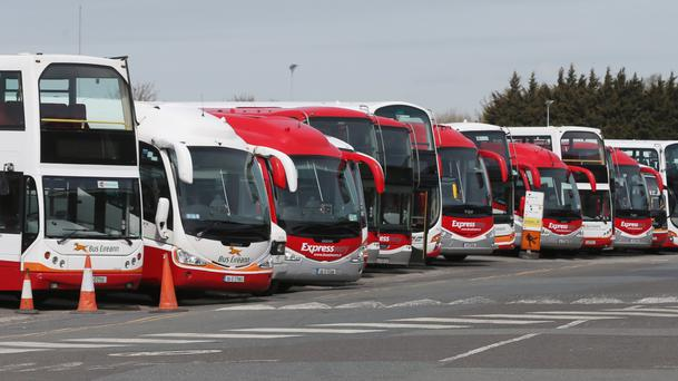 Bus Éireann services may be off the road this Easter as there is no certainty that an all-out strike will be called off. (Stock picture)