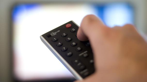 'Now TV', run by Sky, will feature movies, sport and live television Stock Image