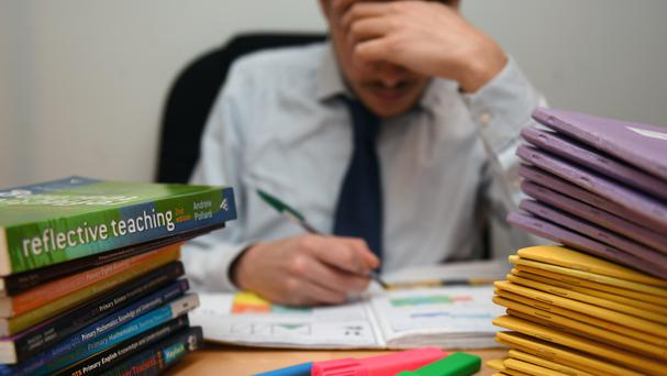 81pc of teachers surveyed said differentiated pay rates among staff had negative effects on morale Photo: PA
