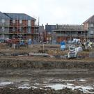 The drop off in the number of homes available is due to the marked slowdown in new house completions. Stock Image: PA