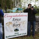 Photographers outside Ashford Castle Photo: PA News