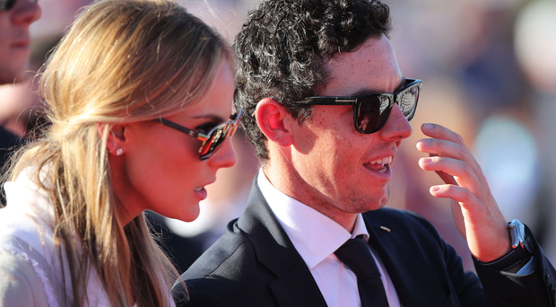 Erica Stoll and Rory McIlroy Photo: PA News