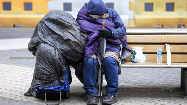 Roughan MacNamara of Focus Ireland said the increase in rough sleepers was expected but disappointing. Stock picture