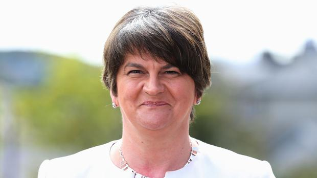 DUP leader Arlene Foster met Irish language campaigners